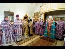 Праздничный молебен в день памяти преп Иоасафа Снетогорского