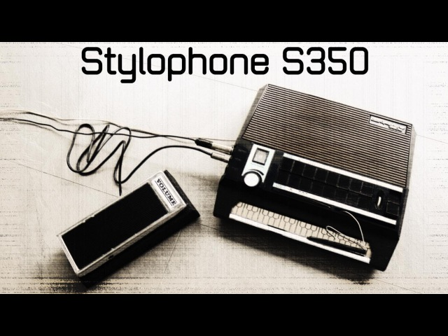 Dubreq Stylophone 350S (1977): Sound and Functions [high quality sound] [Full HD]