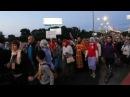 Крестный ход на Ганину Яму в память Святых Царственных страстотерпцев 17 июля 2017 года