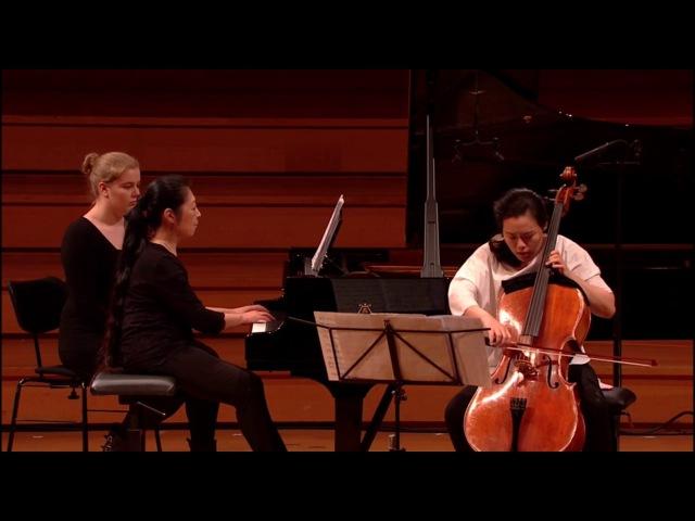 Queen Elisabeth Competition Cello 2017: Seungmin Kang: Cello Sonata No. 1 (Alfred Schnittke)