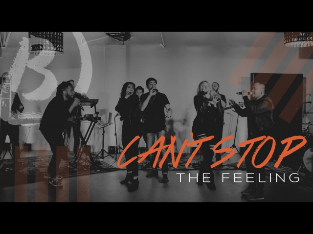 Can't Stop The Feeling by Justin Timberlake Live (Downbeat LA Cover)