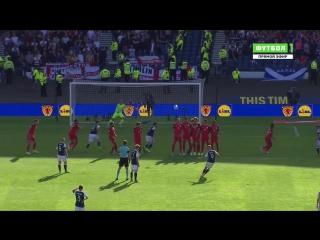 Шотландия 1:1 Англия | Гол Гриффитса
