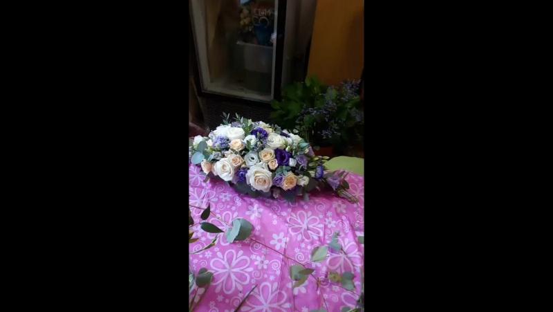 Даша цветочит