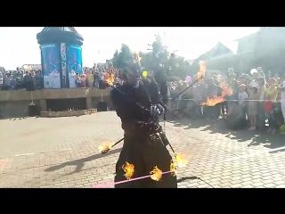 Огненное шоу (г.Альметьевск 2017)
