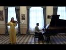 Каролина Аверина, Вероника Пироженко. Я. Сибелиус Концерт для скрипки, 3 часть