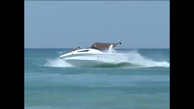 Крым катер Kasatka 700. лучший одномоторный (от 150 до 350л.с.) производство зак