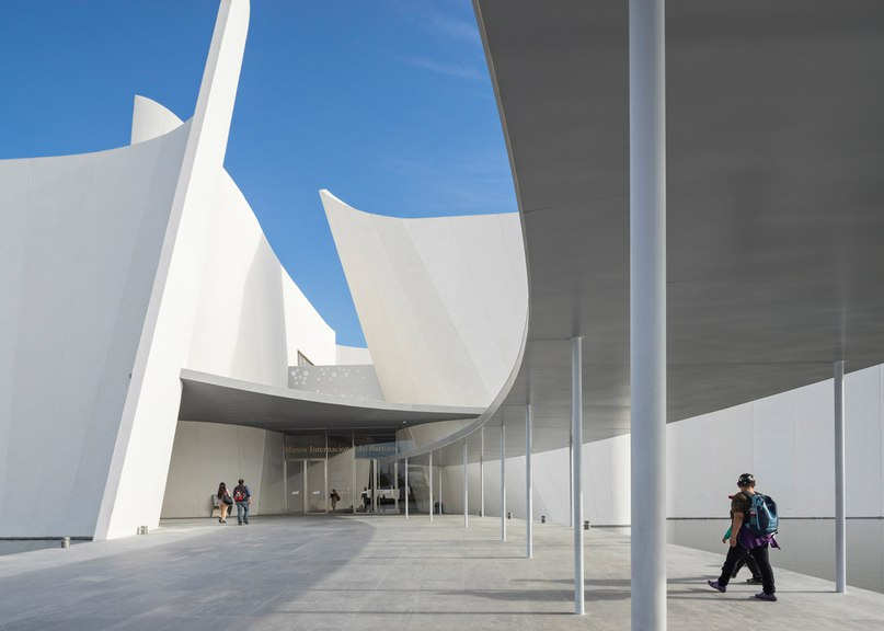 Toyo Ito creates fluted walls of white concrete at Museo Internacional del Barroco (Part 2) ADcity