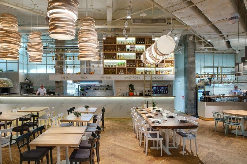 Дизайн-студия YOD Design Lab представила проект демократичного итальянского ресторана Tartufo trattoria, который находится в самом центре Львова (Украина).