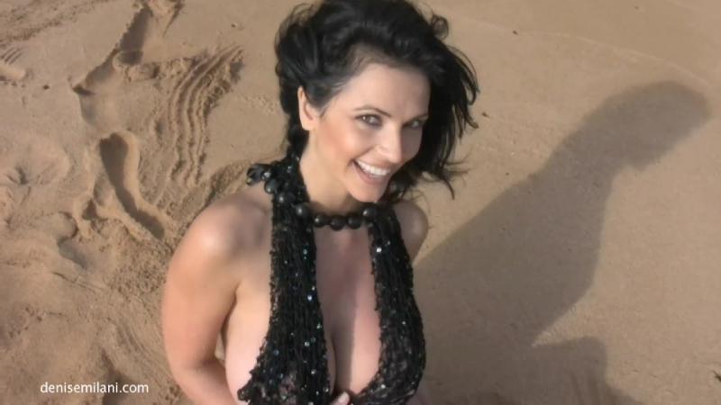 Denise Milani Black Net ( fetish milf wet pussy big tits suck blowjob kink porn anal мамка сосет порно анал шлюха фетиш )