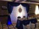 🎀Оформление свадьбы в ярко синем цвете ✔ Кафе Триумф г Чапаевск