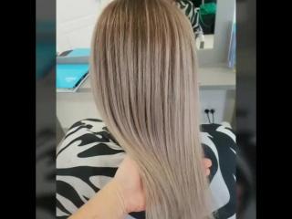 Окрашивание в технике Blur- из отросшего блонда в брондирование с растяжкой цвета от корней к длине 😍😍😍 Ждём вас по адресу ул Фе