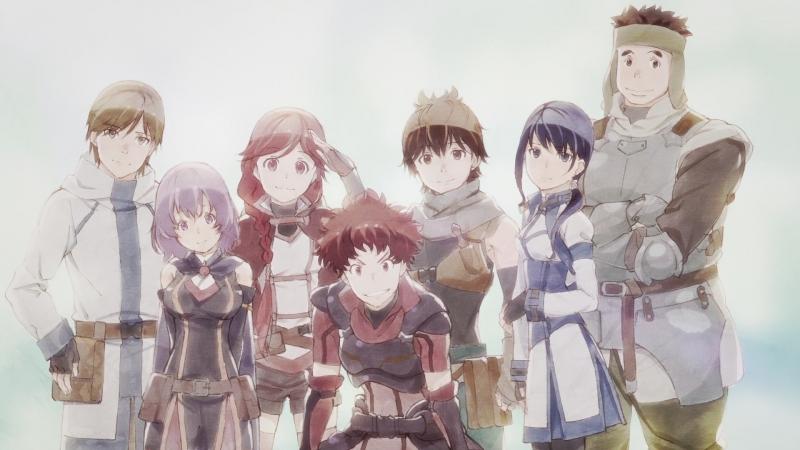 [AnimeOpend] Hai to Gensou no Grimgar 1 Opening v.2 (NC) [Гримгал пепла и иллюзии 1 Опенинг] (1080p HD)