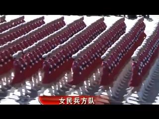 Красота - страшная сила! От Катюши нам передают привет и Новогодние поздравления Китайские девушки!