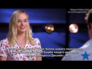 Интервью для «Sunday Night» в рамках промоушена фильма «Тарзан. Легенда» | 26.06.16 (русские субтитры)