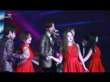 Pre-Debut › 15.12.31 MBC's Gayo Daejejun  › Юнджи одна из танцоров у B1A4 - Sweet Girl  ‹ Фанкам