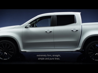 The design of the Concept X-CLASS - Mercedes-Benz original