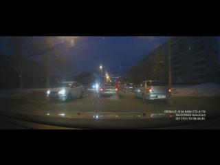 Авария на Кирова 8:45 16.01.17