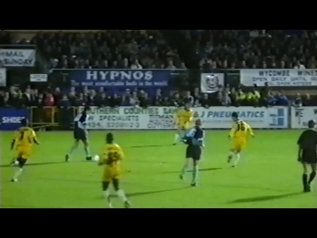 Rewind: Wycombe 4-2 Coventry (AET), Coca Cola Cup Second Round, Second Leg, October 1993
