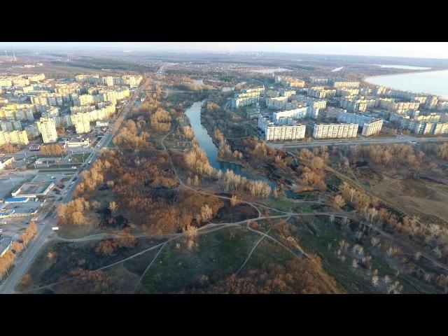 DJI Phantom 4 Лес 4 микрорайон Днепродзержинск Каменское л б