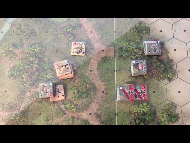 Raid on Taivu AAR Turn 6 Heroes of the Pacific