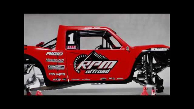1:5 Scale RC Trophy Truck : RPM OFF ROAD