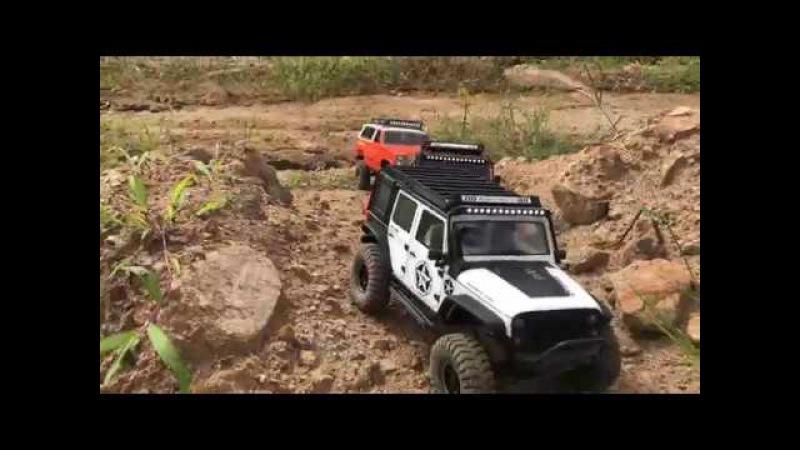 Traxxas TRX-4   Vattera Ascender   Axial SCX10   Off Road Trail 2