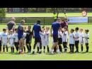 The big game Radja Dzeko and Keba take on 16 kids in hilarious match AS Roma