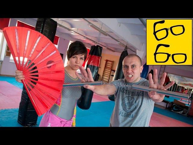 Нунчаки и боевой веер — традиционное оружие ушу (кунг-фу) с Алексом Горским и Ана...