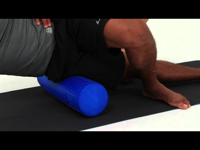OUTER THIGH ROLL ITB WITH BENT KNEE