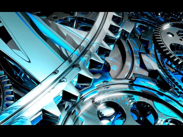 HD футаж вращающиеся шестеренки | HD footage rotating gears