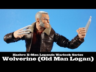 X-Men Marvel Legends Wolverine Old Man Logan Hasbro Review
