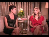 Kristen Bell and Odette Yustman talk to Jim O'Brien for You Again.mov