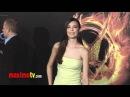 Odette Annable at The Hunger Games World Premiere Arrivals