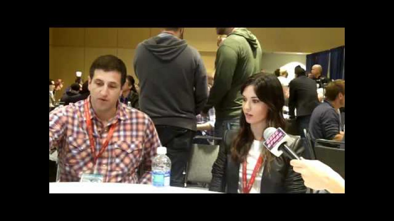 Doug Robinson Odette Annable at WonderCon 2011