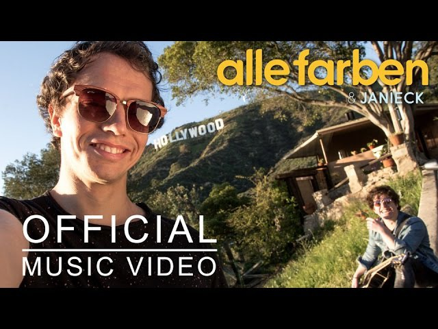 Alle Farben Janieck - Little Hollywood [OFFICIAL VIDEO]