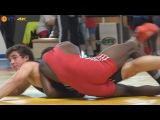 Ringen int. Brandenburg-Cup 2014 Kadetten (Gr./Rö.) - 76kg 1/2 Finale