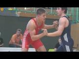 Ringen int. Brandenburg-Cup 2014 Kadetten (Gr./Rö.) - 76kg Finale 3+5