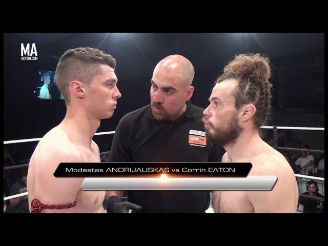 Modestas Andrijauskas vs Corrin Eaton - Contenders 19