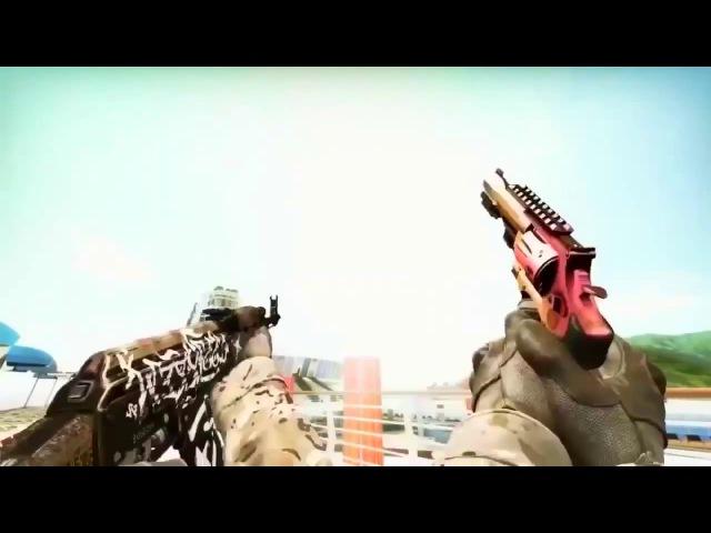 Топ 5 песен под выстрелы из оружия CS:GO