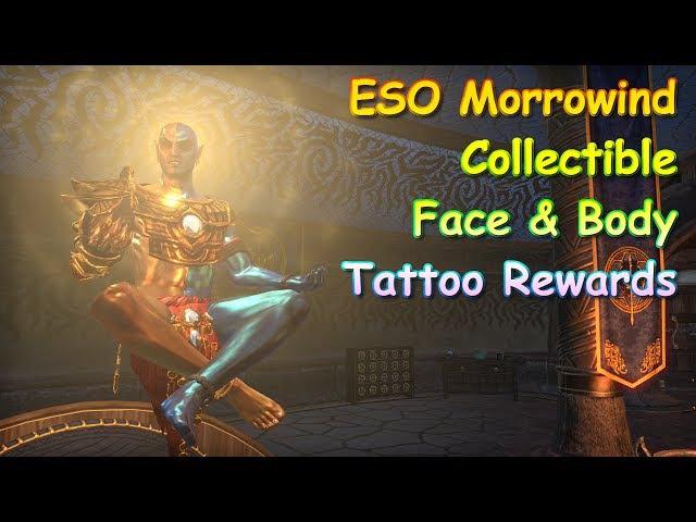 ESO Morrowind Collectible Tattoo Rewards