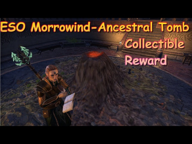 ESO Morrowind Ancestral Tomb Collectible Reward