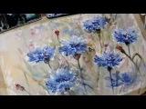 Hedwig's Art blue Corn flowers