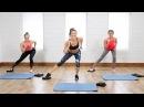 20-минутная тренировка для плоского живота и крепких ног на скользящих дисках. 20-Minute Flat Belly and Tight Legs Toning Workout Using Gliders | Class FitSugar