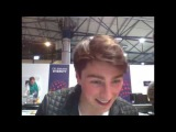 Brendan Murray (Ireland) on the ESCXTRA live stream