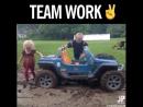 Вот это командная работа!