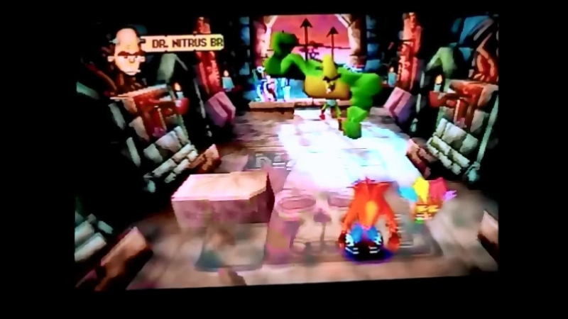 Crash Bandicoot 1(NTSC-U).Босс N.Brio