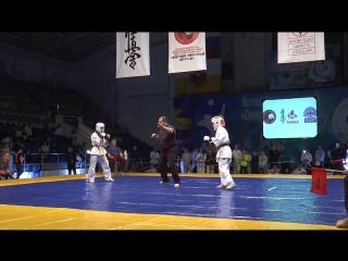 Финал ЮФО. Антошкина Ирина и Гасан Виктория