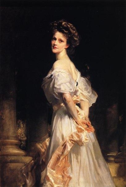 Нэнси Астор на портрете работы Дж. Сарджента