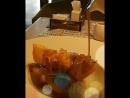 Good morning Грушевый штрудель с соусом из крем брюле