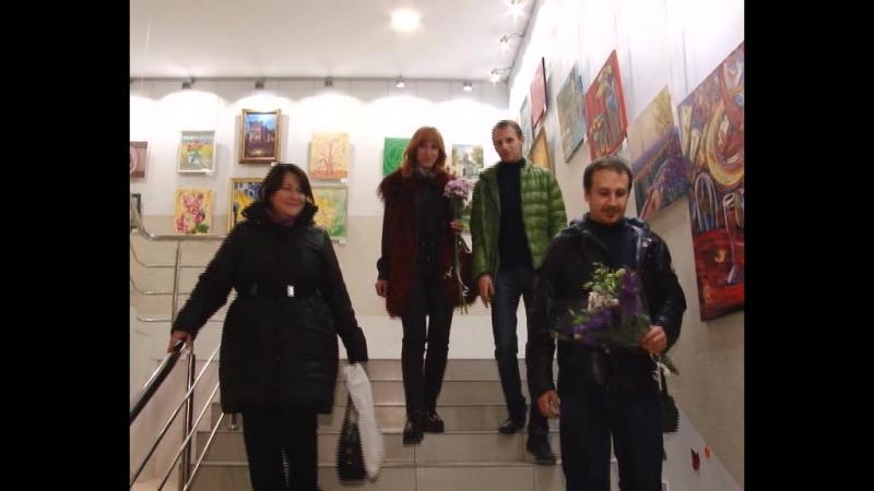 ТРК Алекс о выставке Сопричастность искусству 19.10.16